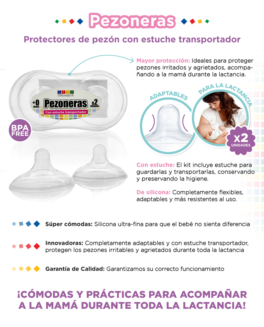 Pezoneras Baby Innovation
