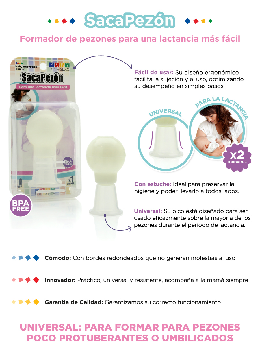 SacaPezón Baby Innovation